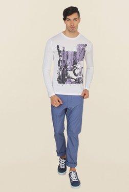Calvin Klein White Printed T-Shirt