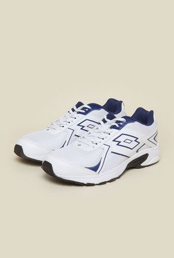 Lotto Legend White & Navy Running Shoes