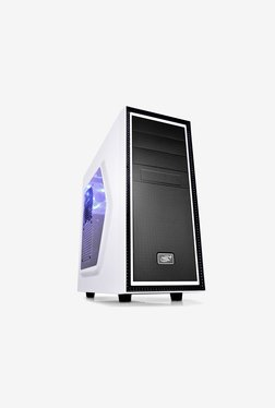 Deepcool TESSERACT WH SW Mid Tower Case (White & Black)