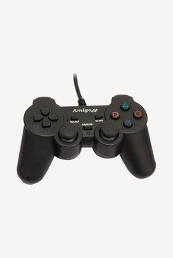Amigo E3GO 0001 PS3 Bluetooth Controller (Black)
