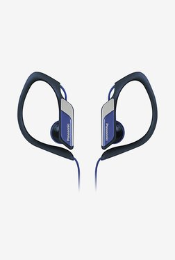 Panasonic RP-HS34ME-A In Ear Headphones (Blue)