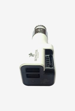 Skywater Car Charger & Air Purifier (White)