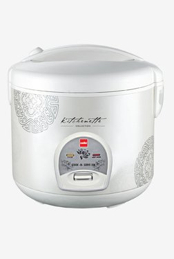 Cook-N-Serve 200 Rice Cooker (400W, 1 Ltr, White)