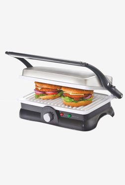 Cello Super Club 500 Sandwich Maker (Sliver & Black)