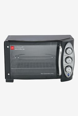Cello 25L Bake N Grill 200 Oven Toaster Griller (Black)