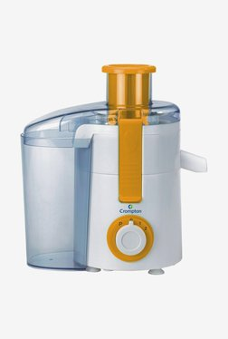 Crompton ACGJE-JES30-I Juicer Extractor (White & Orange)