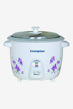Crompton MRC61-I 1.5 Litre Electric Rice Cooker (White)