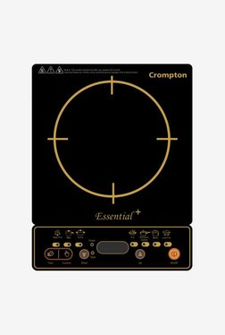 Crompton Essential Plus Induction Cooktop (Black & Gold Print)