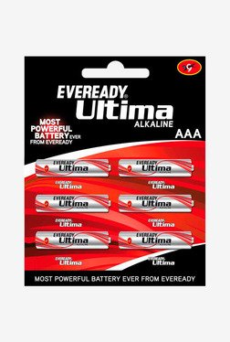 Eveready Ultima AAA Battery (Pack Of 6)