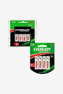 Eveready BP4 AA Rechargeable Battery (Pack of 4)