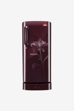LG GL-D201ASLN 190L Single Door Refrigerator (Scarlet Lily)