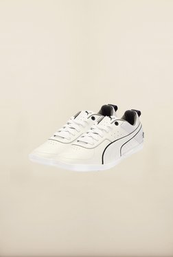 Puma BMW White & Heather Grey Sneakers