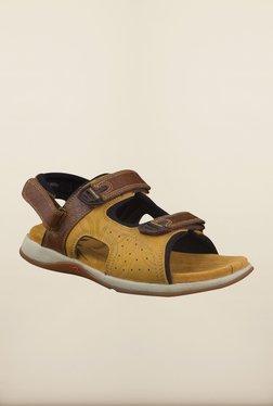 Woodland Brown Floater Sandals - Mp000000000122579