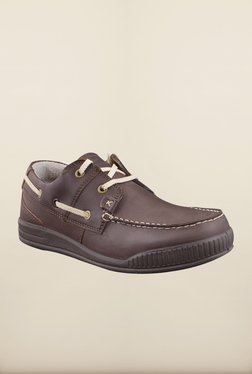 Woodland Dark Brown Boat Shoes