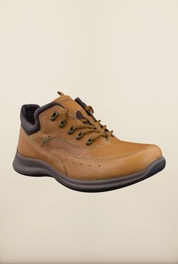 Woodland Tan Casual Shoes