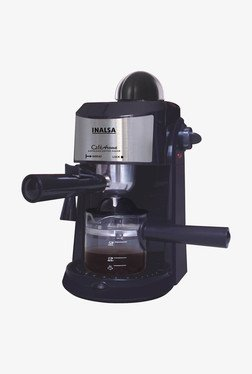 Inalsa Cafe Aroma 800 Watt Espresso Coffee Maker (Black)