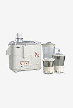 Inalsa Star DX 500W Juicer Mixer Grinder (White)