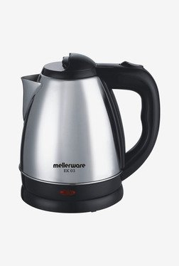 Mellerware EK 03 1.5 Ltr Electric Kettle (Black & Sliver)