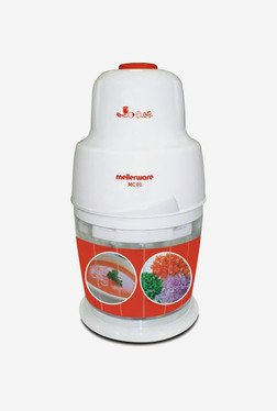 Mellerware MC 01 Mini Chopper (White & Red)