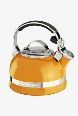 KitchenAid 2.0-Quart Kettle With Full Handle Orange