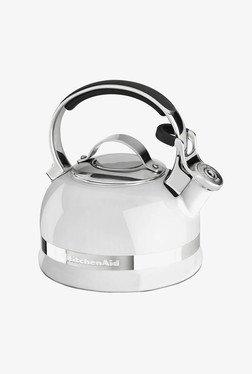 KitchenAid 2.0-Quart Kettle With Full Handle White