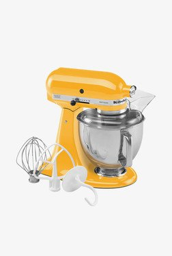 KitchenAid Artisan 4.8 Litre Tilt-Head Stand Mixer (Yellow)