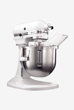 KitchenAid 4.8-Litre Bowl-Lift Stand Mixer (White)