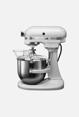KitchenAid 4.8-Litre 2 Bowl-Lift Stand Mixer (White)