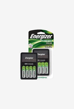 Energizer AA Battery With Charger (White)