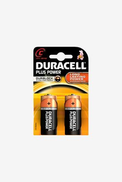 Duracell LR14 C Alkaline Battery Black (Pack of 2)