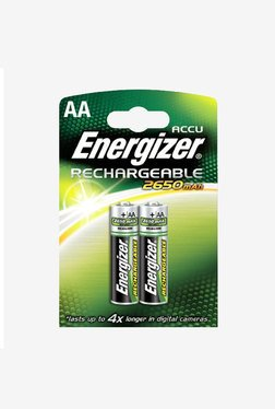 Energizer HR6 AA Alkaline Battery White (Pack Of 2)