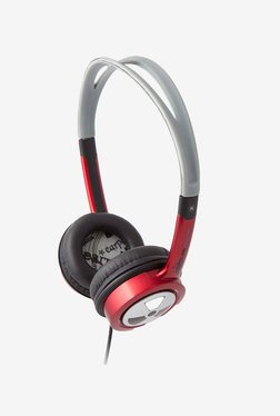 iFrogz Audio Ear Pollution Toxix Headphones (Red)