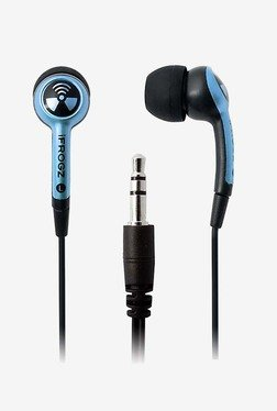 iFrogz EarPollution Plugz Sky (Blue)