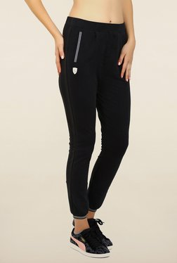 Puma Black Solid Ferrari Sweat Pants