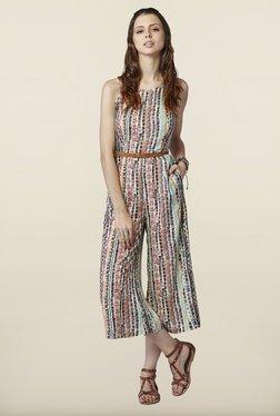 Global Desi Multicolor Printed Jumpsuit