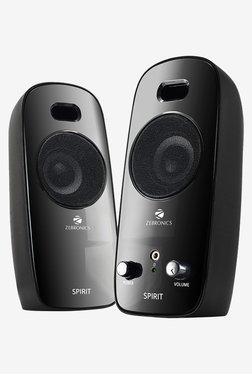 Zebronics Spirit Computer Speakers Black