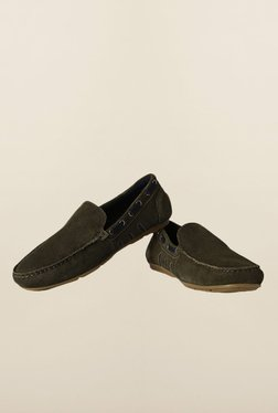 Allen Solly Olive Loafers