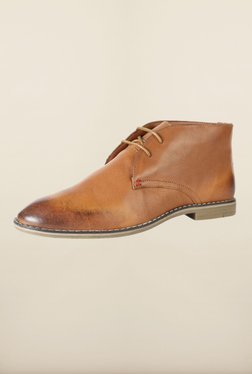 Allen Solly Brown Chukka Shoes