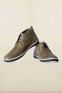 Allen Solly Olive Chukka Shoes