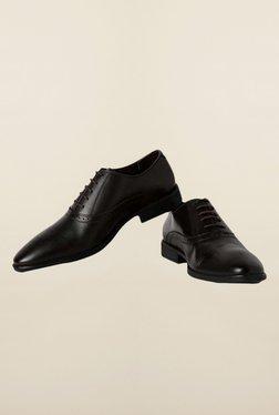 Van Heusen Dark Brown Oxford Shoes
