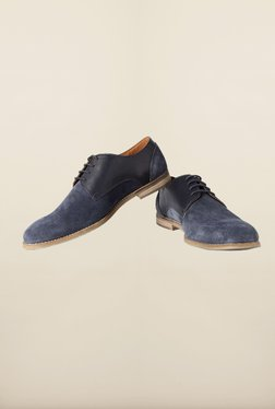 Allen Solly Navy Derby Shoes