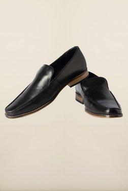 Van Heusen Black Formal Slip-Ons Shoes - Mp000000000165856