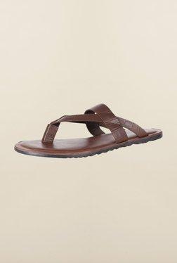 Van Heusen Dark Brown Slippers