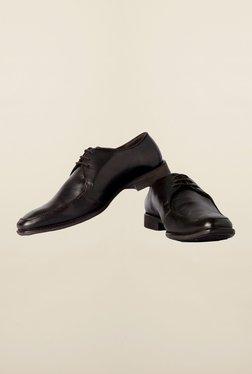 Van Heusen Dark Brown Formal Shoes
