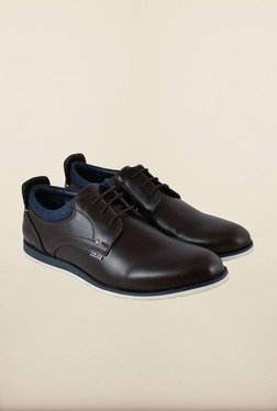 Arrow Dark Brown Formal Lace-up Shoes