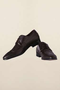 Van Heusen Dark Brown Derby Shoes