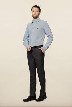 University of Oxford Blue Checks Formal Shirt