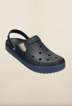 a0d043241c77 Crocs Citilane Navy Blue Clogs for Men online in India at Best price ...