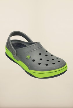 ea3a3d93fd2a5 Crocs Front Court Grey Clogs for Men online in India at Best price ...