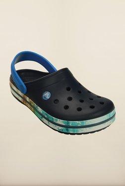 Crocs Crocband Tropical II Navy Clogs